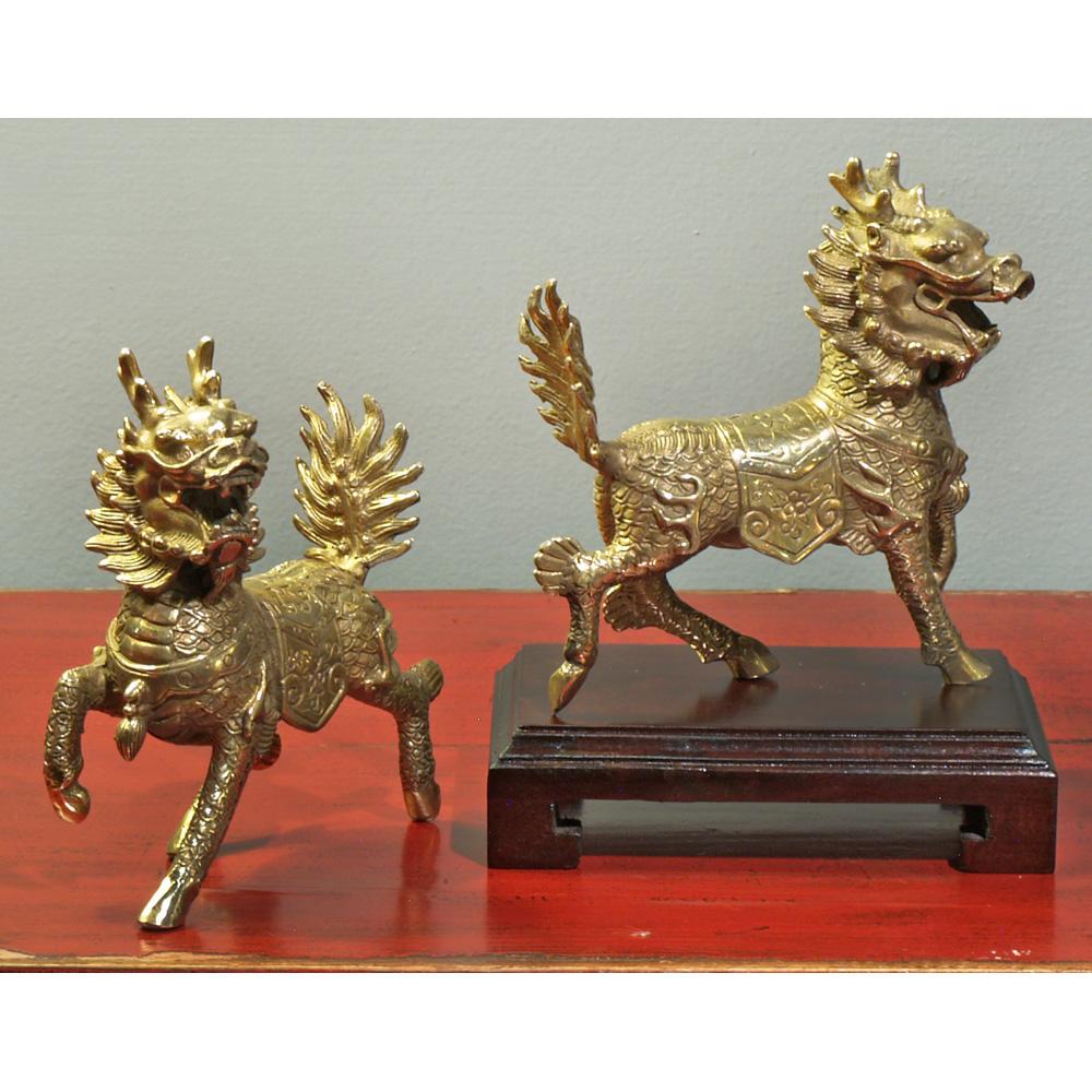 Hand Made Bronze Kirins