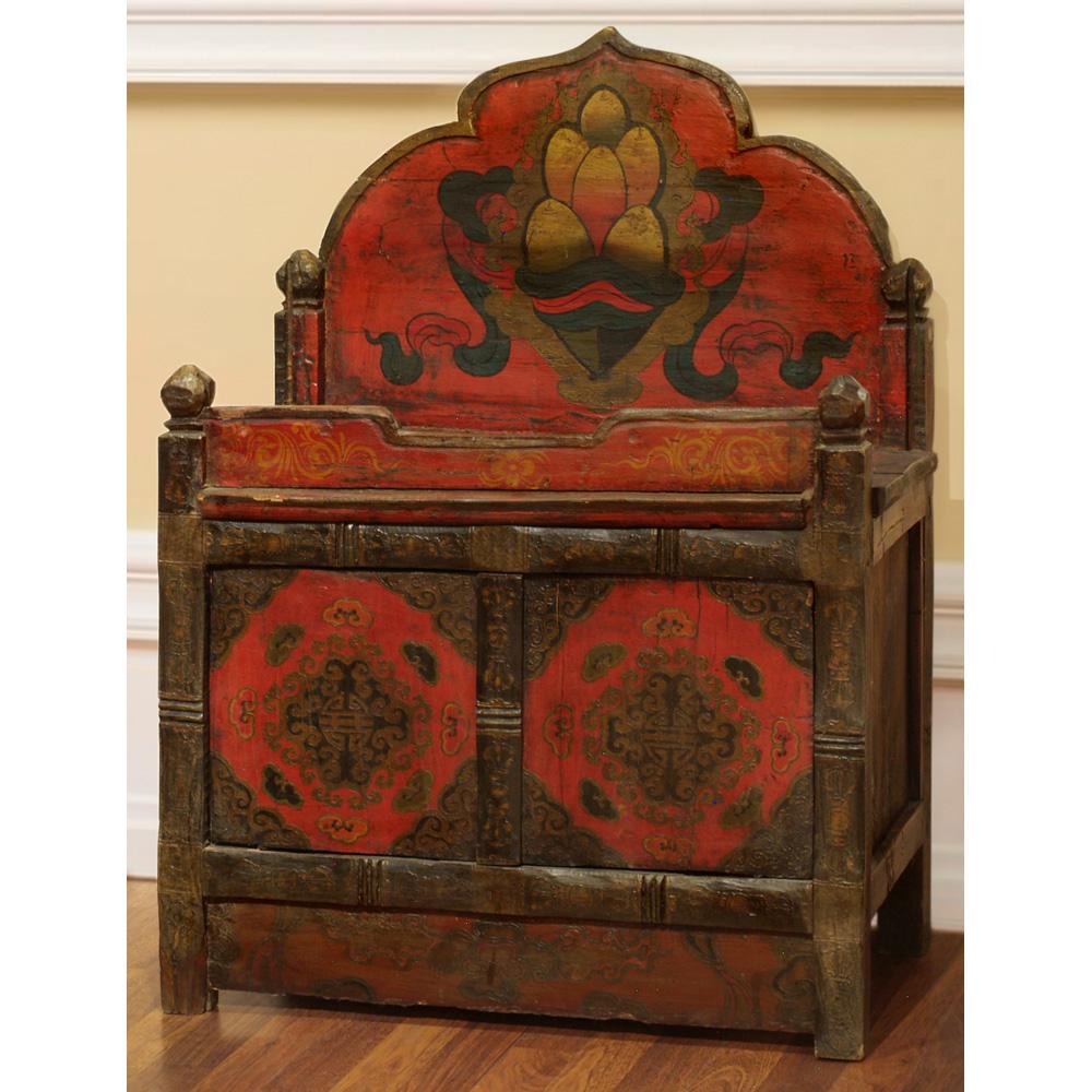 Tibetan Style 2-Door Cabinet