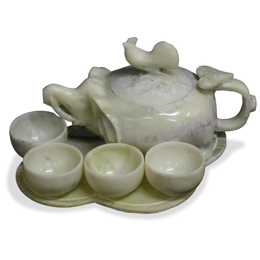 Jade Tea Set