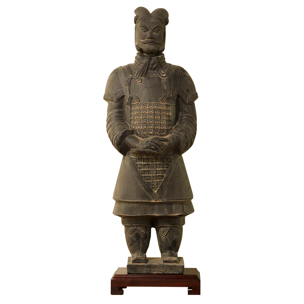 23 Inch Terracotta Army General Warrior