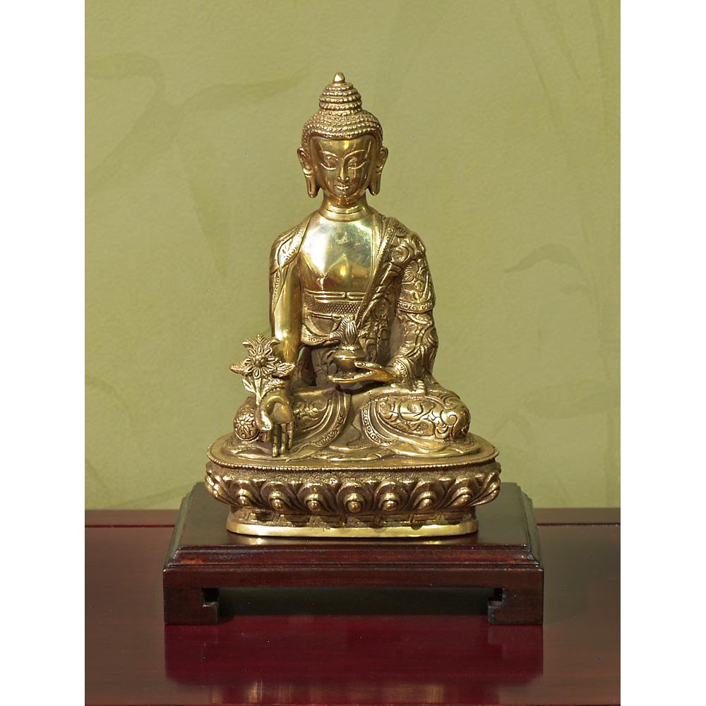 Bronze Meditating Buddha Statue