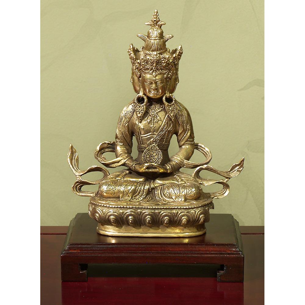 Hand Forged Bronze Meditating Buddha