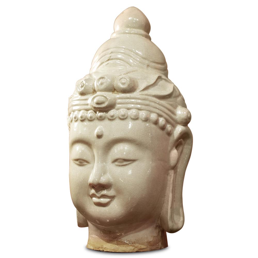 Ceramic Guanyin Head