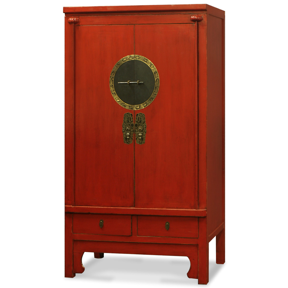 Elmwood Ming Style Armoire