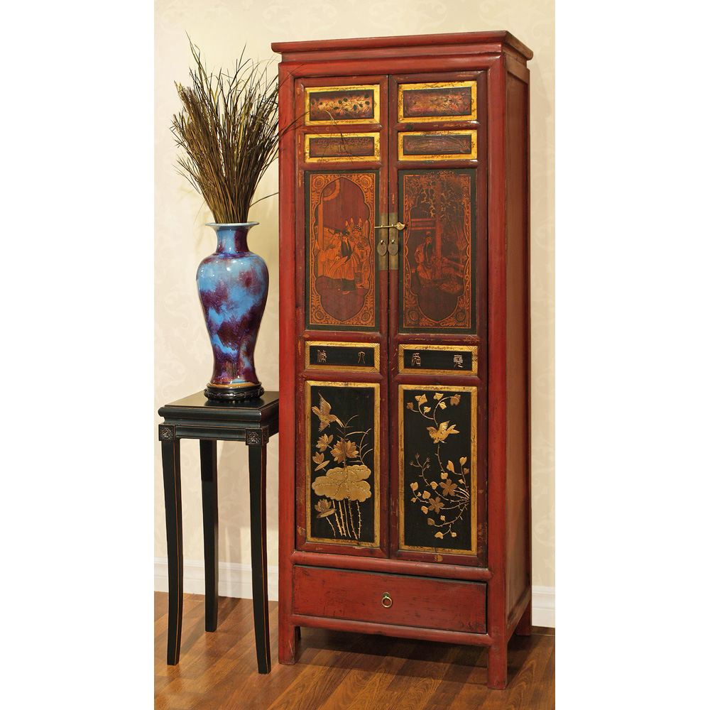 Elmwood Qing Cabinet