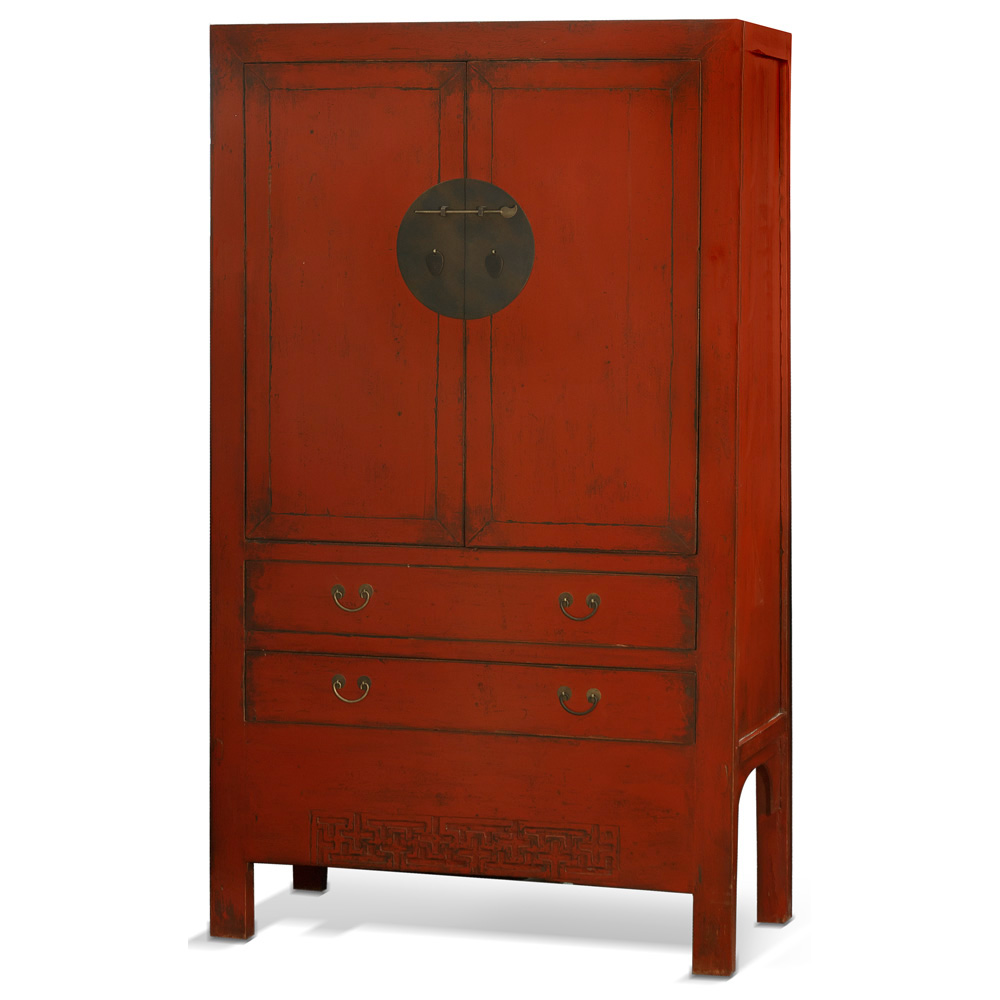 Elmwood Red Wedding Cabinet