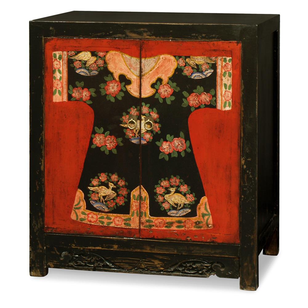 Hand Painted Mandarin Cabinet