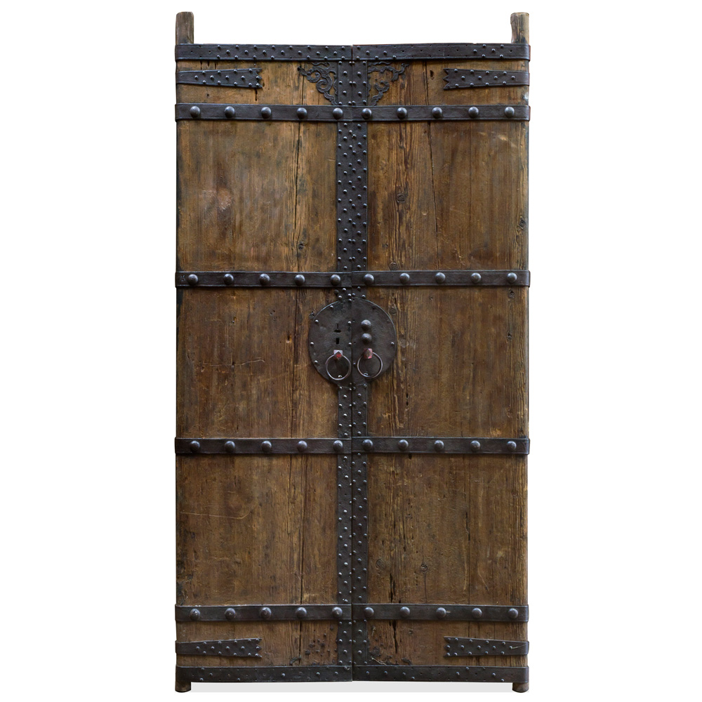 Antique Chinese Temple Doors