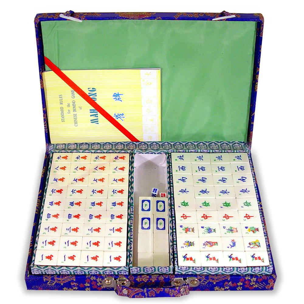 Bamboo Mahjong Set