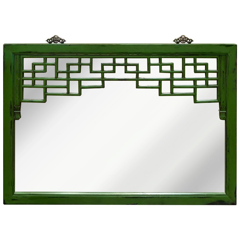 Elmwood Vintage Window Panel Mirror