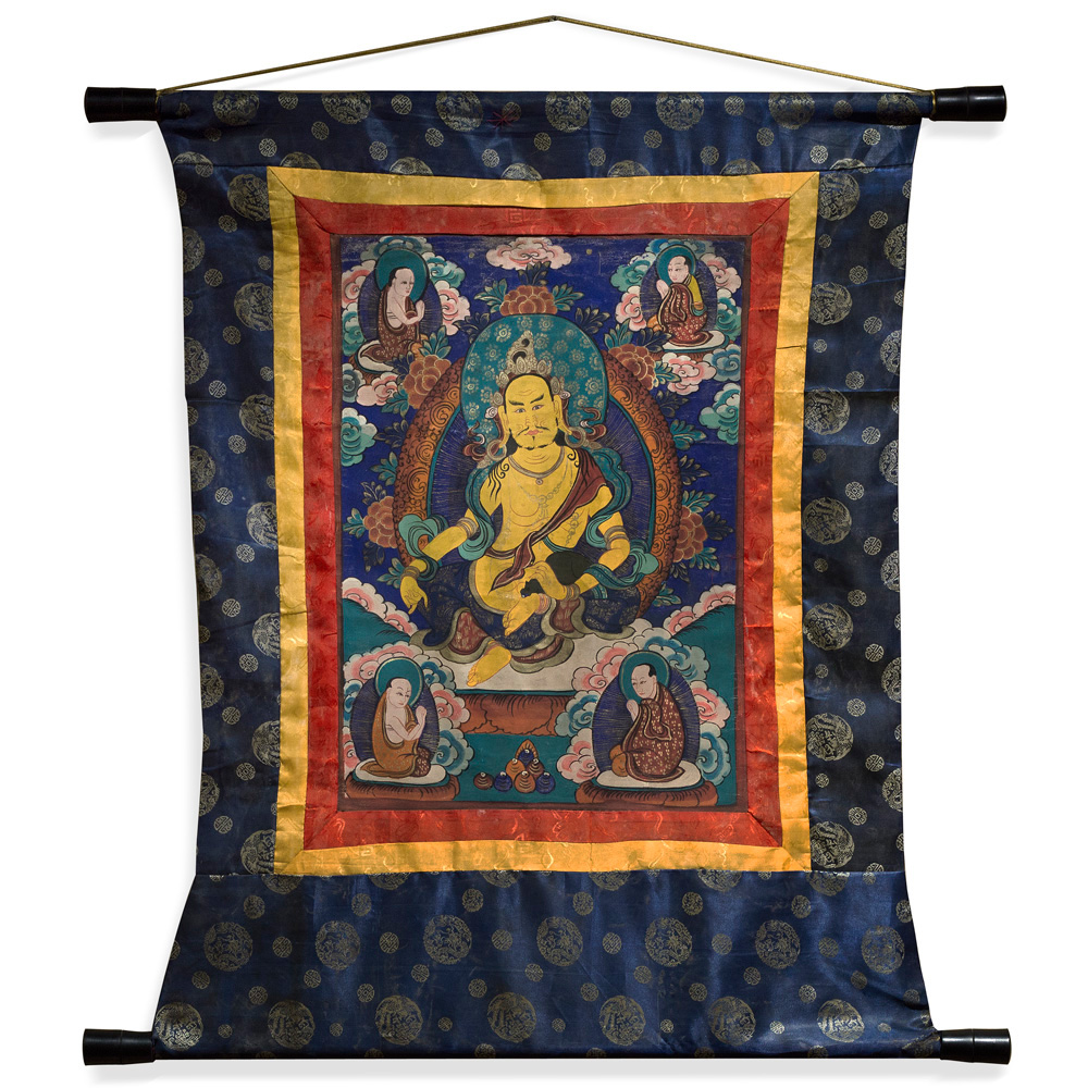 Tibetan Tang Ka Tapestry