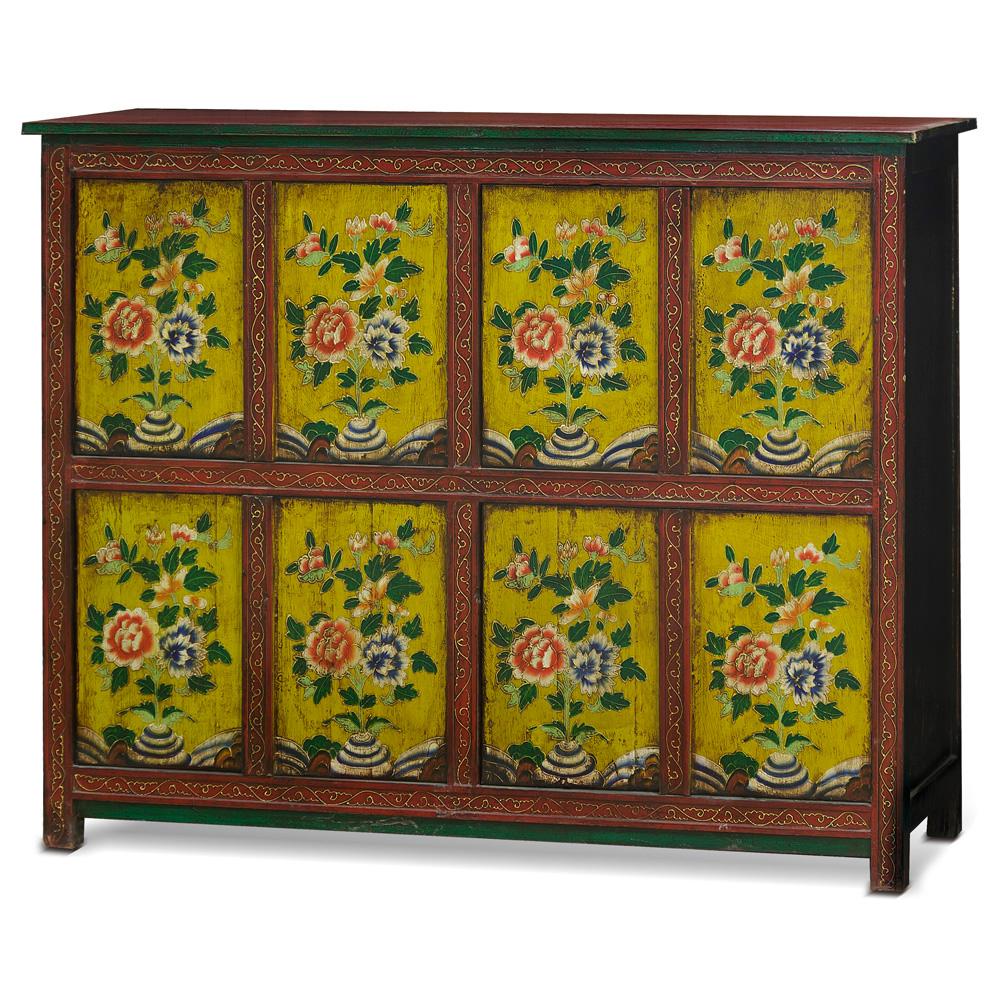 Elmwood Molan Tibetan Cabinet