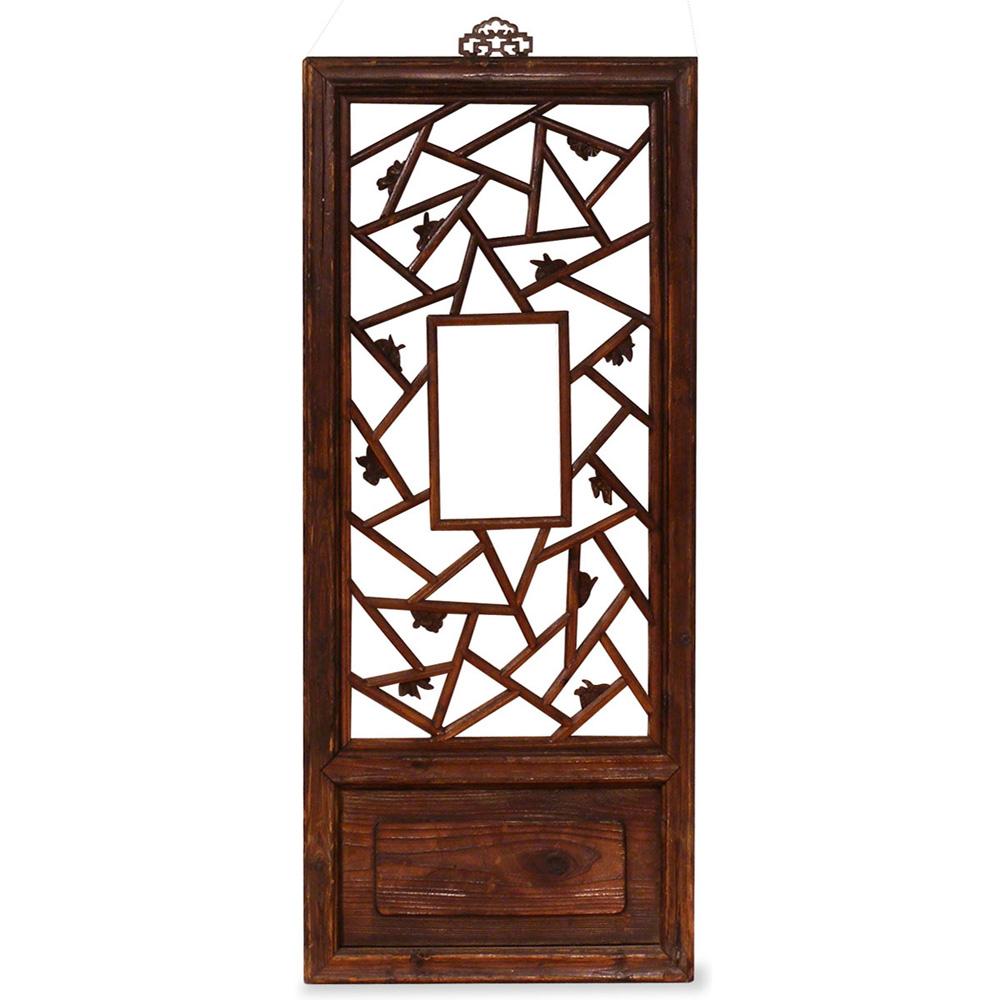 Antique Window Panel Shutter