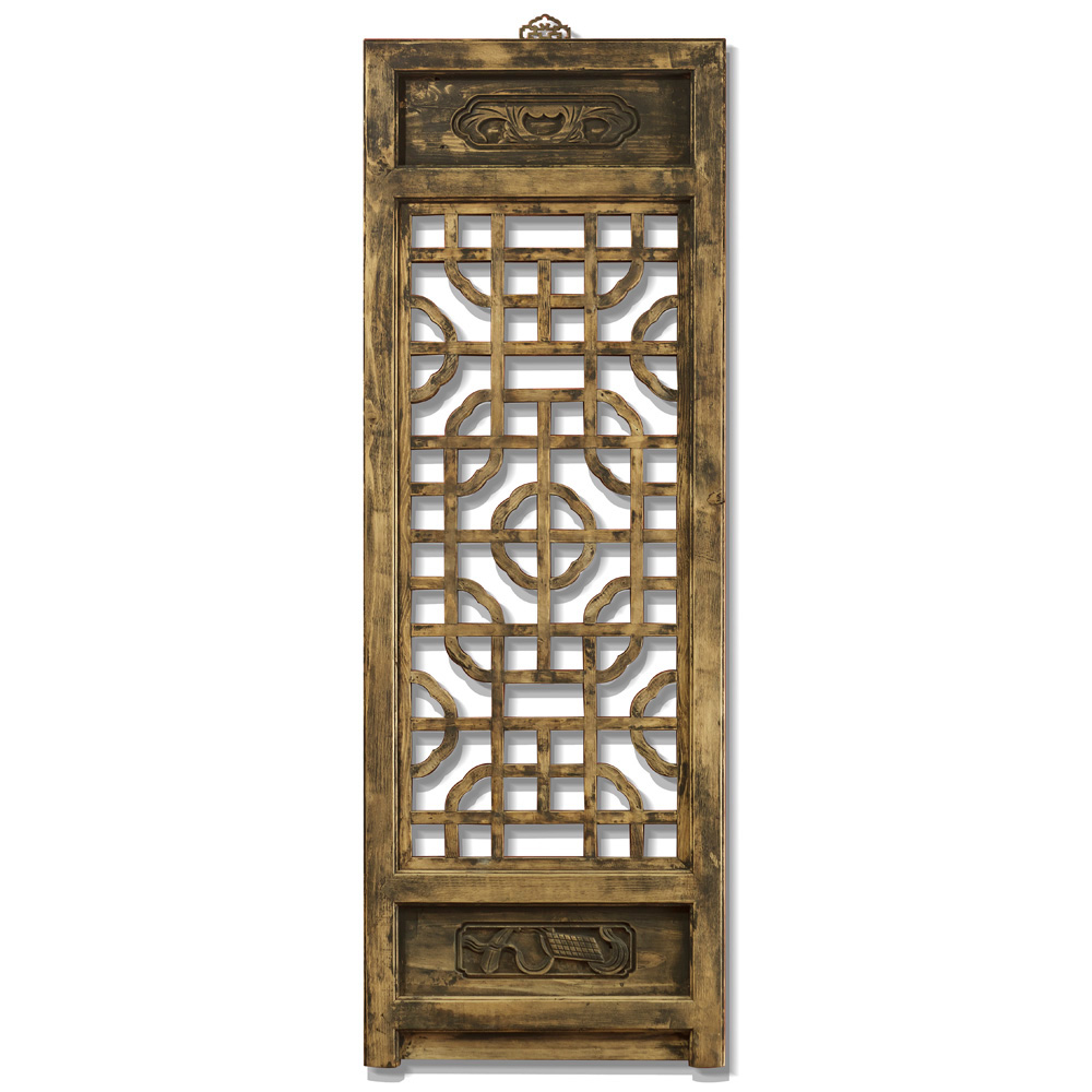 Antique Window Panel Shutter