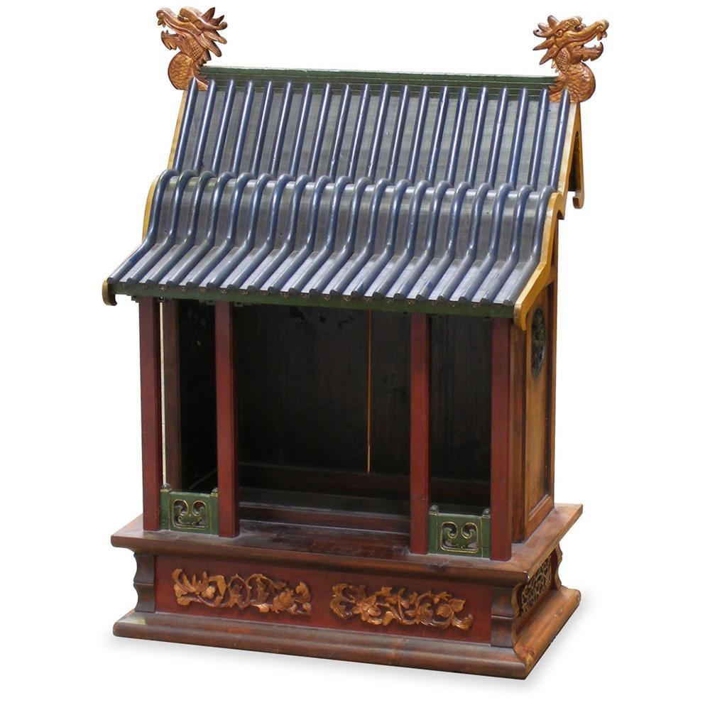 Antique Miniature Pagoda House