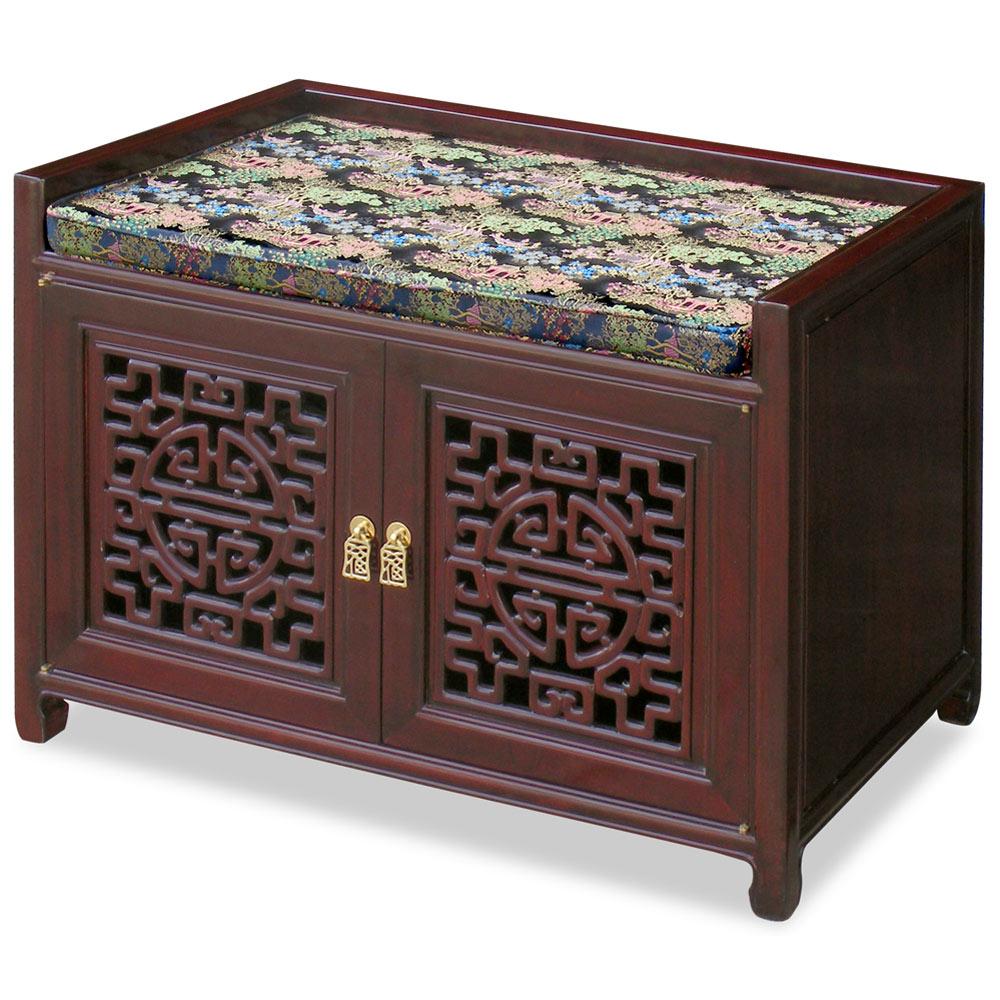 Rosewood Longevity Design Bench