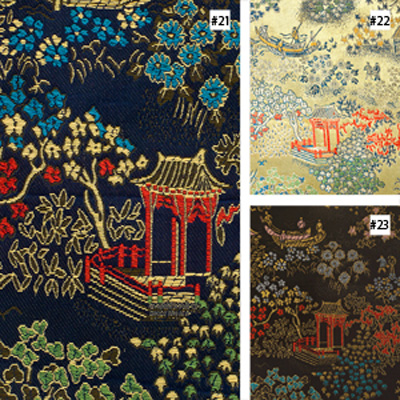 Chinese Courtyard Design (#21, #22, #23) Monk Chair Cushion