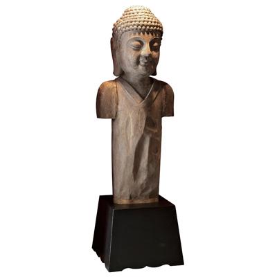 Teakwood Buddha Asian Statue