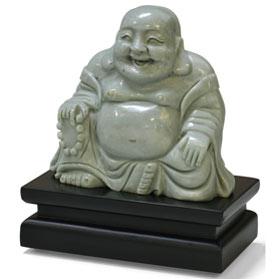 Chinese Jade Happy Buddha