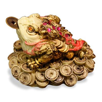 Prosperity Money Toad Chinese Figurine