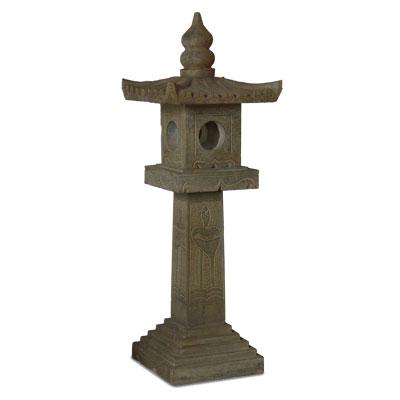 Tall Chinese Stone Pagoda Lantern