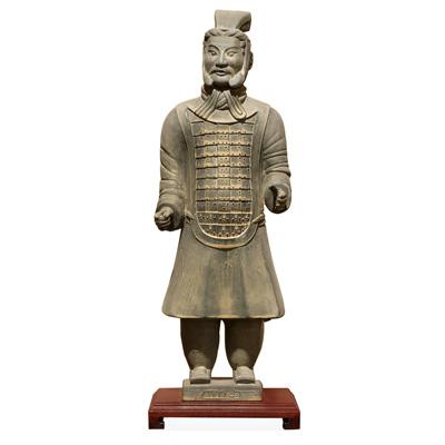 23 Inch Terracotta Chariot Warrior