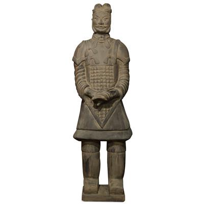73 Inch Terracotta Army General Warrior