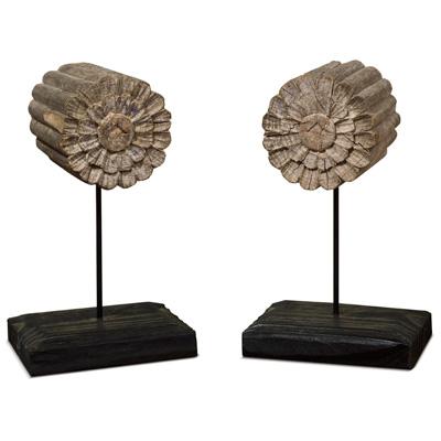 Antique Repurposed Wooden Beam Set