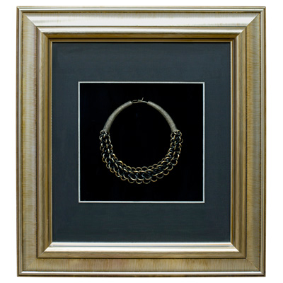 Miao Jewelry Chain Necklace Shadow Box