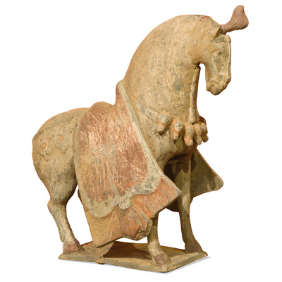 Ceramic Tang Horse Replica Oriental Statue