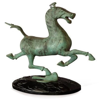 Bronze Flying Horse of Gansu Oriental Statue
