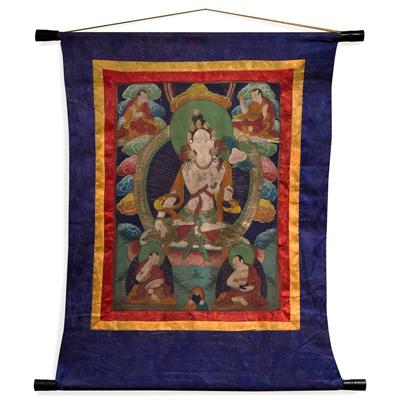 Tibetan Thangka Tapestry