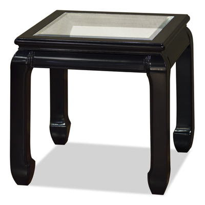 Black Rosewood Ming Style Chinese Lamp Table