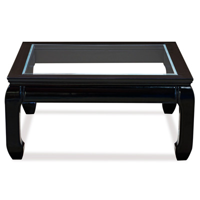 Black Rosewood Ming Square Chinese Coffee Table