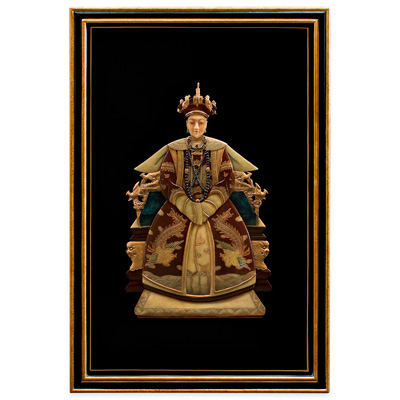 Shou Shan Stone Empress Chinese Wall Art
