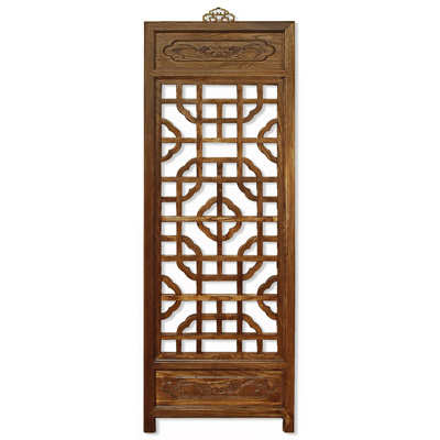 Elmwood Chinese Window Shutter Panel