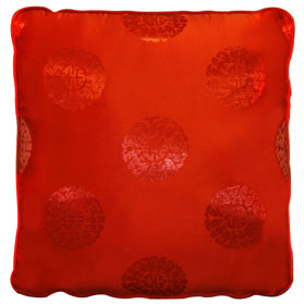 Chinese Silk Pillow (#02)