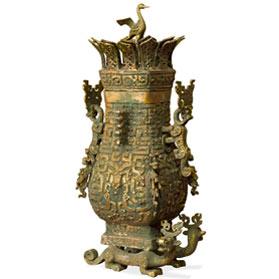 Bronze Patina Imperial Fang Hu