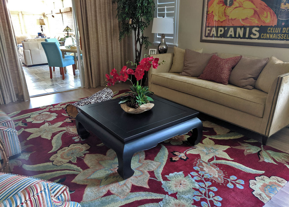 Black Chinese Coffee Table