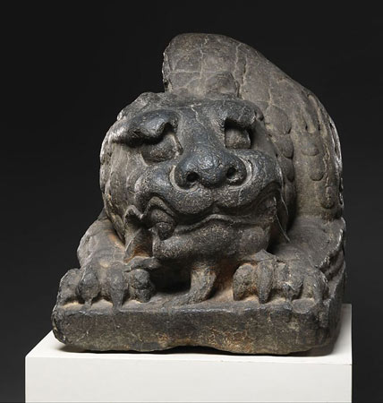 Northern Qi Dynasty Chinese Lion Sculpture