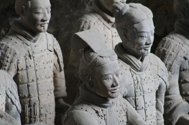 Terracotta Army Closeup