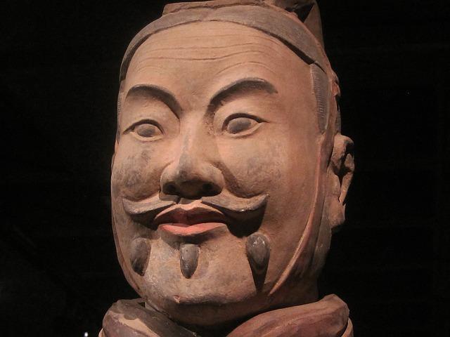 Terracotta Soldier Head