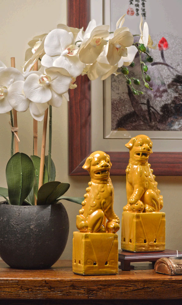 foo dogs figurines