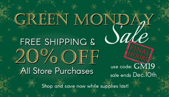Green Monday Sale