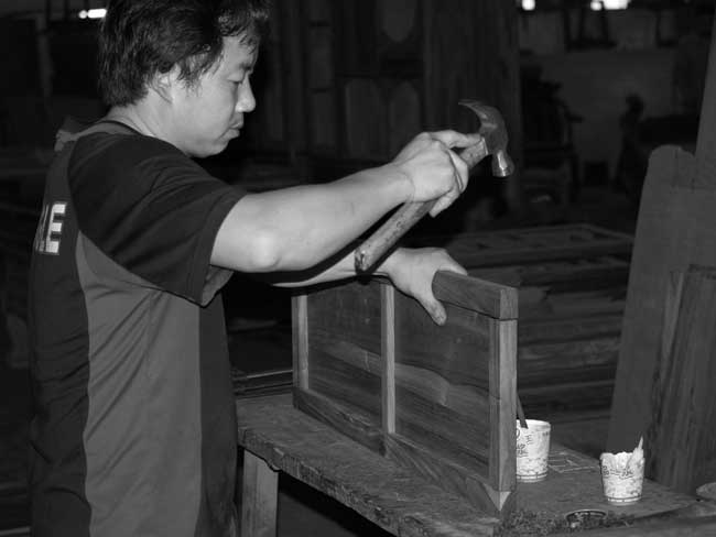 traditional rosewood joinery