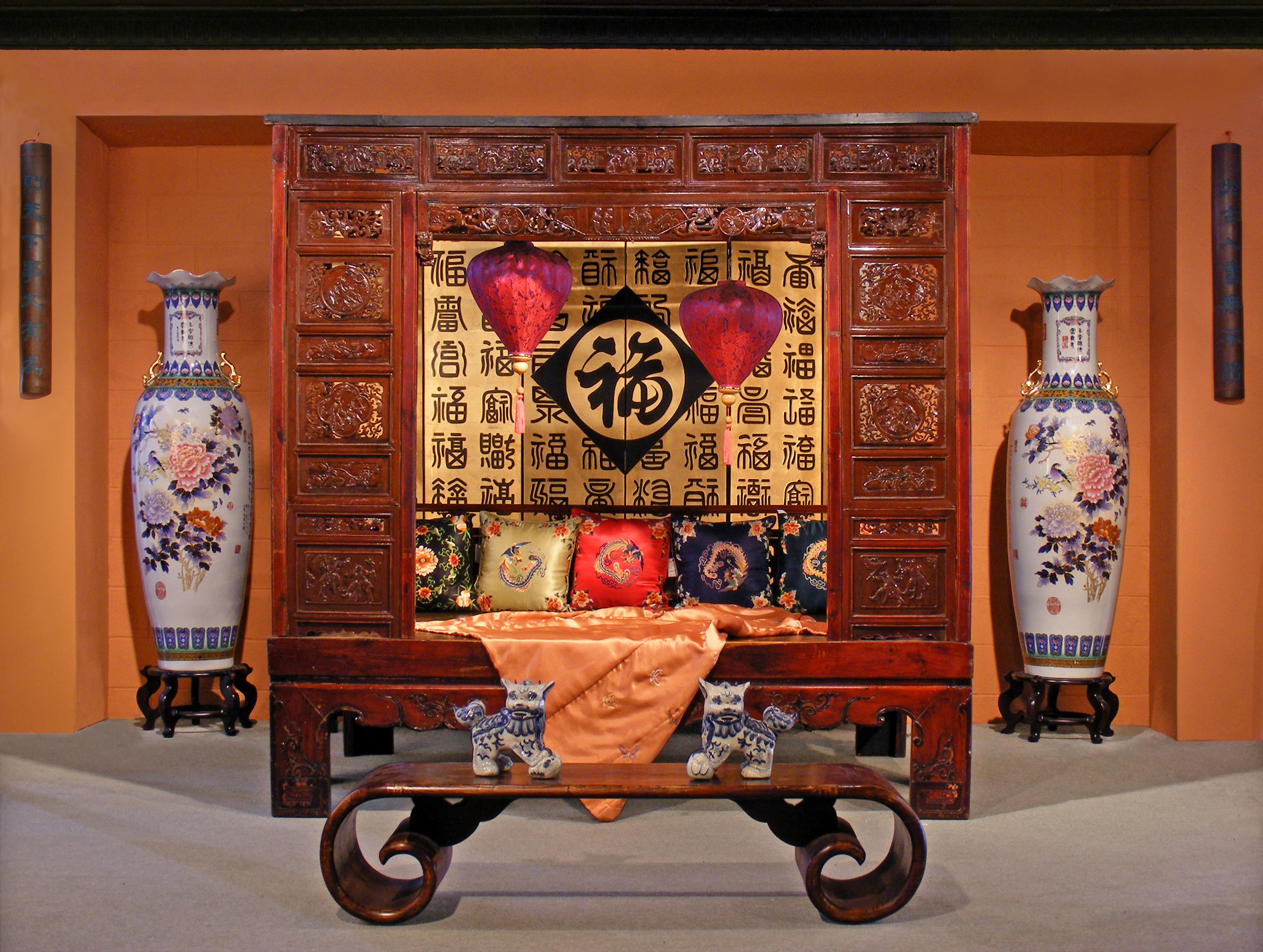 The Traditional Chinese Bed China Furniture Online