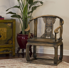 Asian Inspired Chairs and Stools