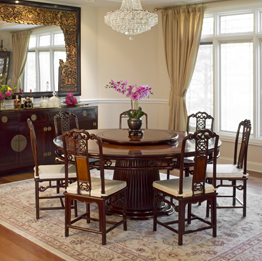 Asian Style Dining Room Furniture