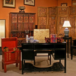 Asian Style Home Office Furniture