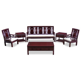 Asian Style Rosewood Living Room Furniture
